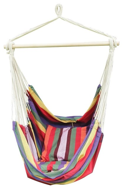 cotton hammock chair bermuda beach style hammocks and swing chairs cotton hammock chair bermuda   beach style   hammocks and swing      rh   houzz