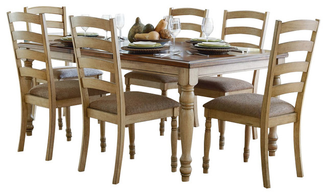 Homelegance Nash 8-Piece Rectangular Extension Dining Room Set in ...