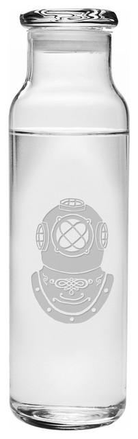 Dive Helmet Water Bottle