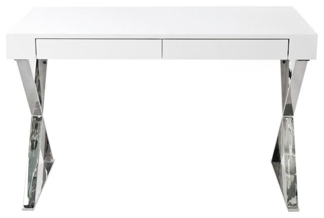 White Lacquer Desks