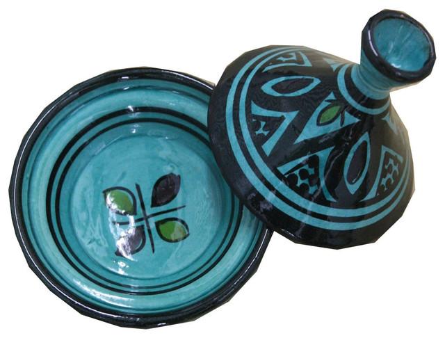 Woody Tajine Dish, Green.