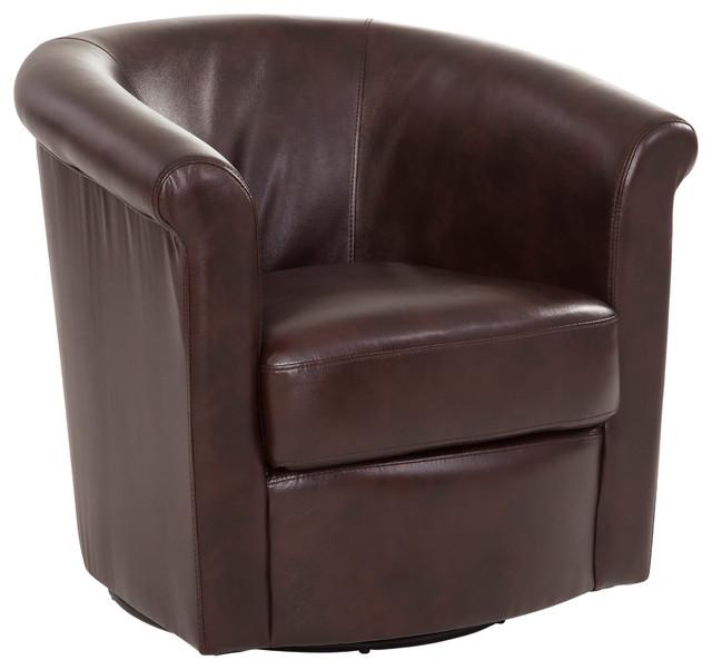 Admirable Marvel Brown Swivel Tub Chair Camellatalisay Diy Chair Ideas Camellatalisaycom