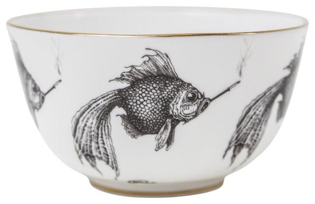 Smoky Fish Bowl, Small