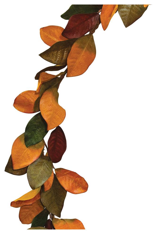 36 Fall Magnolia Leaves Teardrop