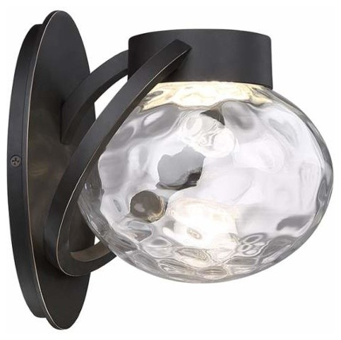Modern Forms WS-W31509 Boule 1 Light LED Indoor / Outdoor Lantern Wall Sconce