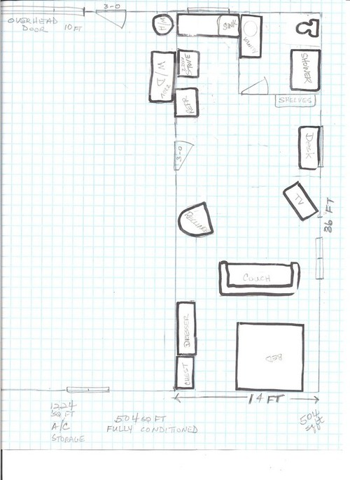 Looking for barn shop with living quarters for Shop with living quarters plans
