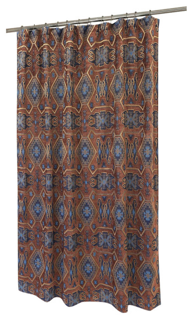 Saguaro Desert Shower Curtain Southwestern Shower Curtains