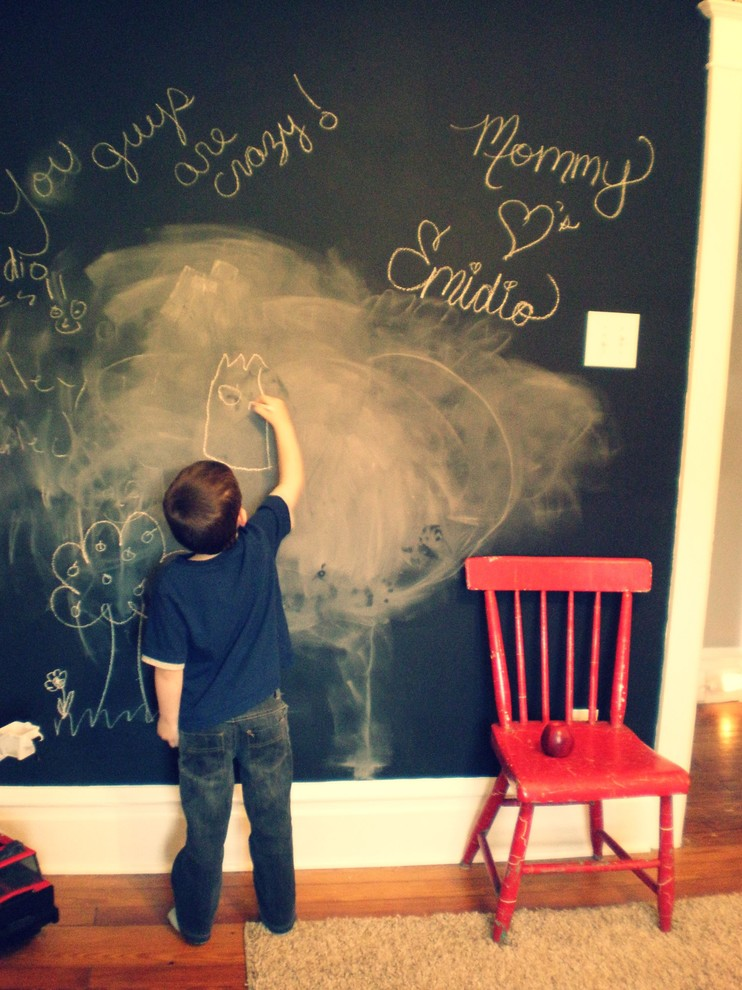 Inspiration for a timeless playroom remodel in Other