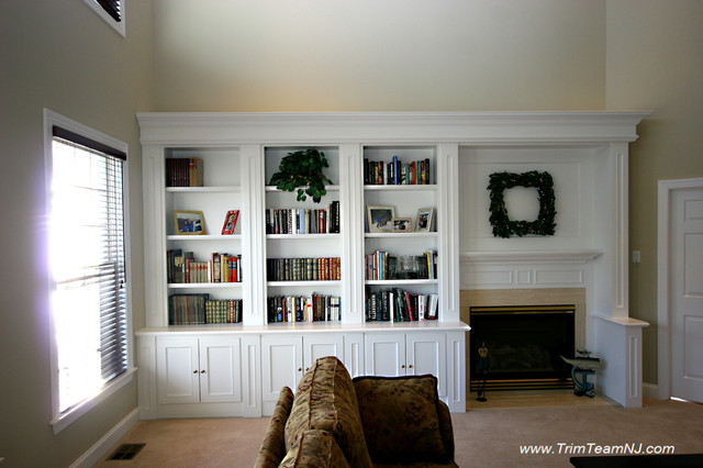 Galeria Bookcases Wall Unith Built Ins Shelving Traditional Dining Room