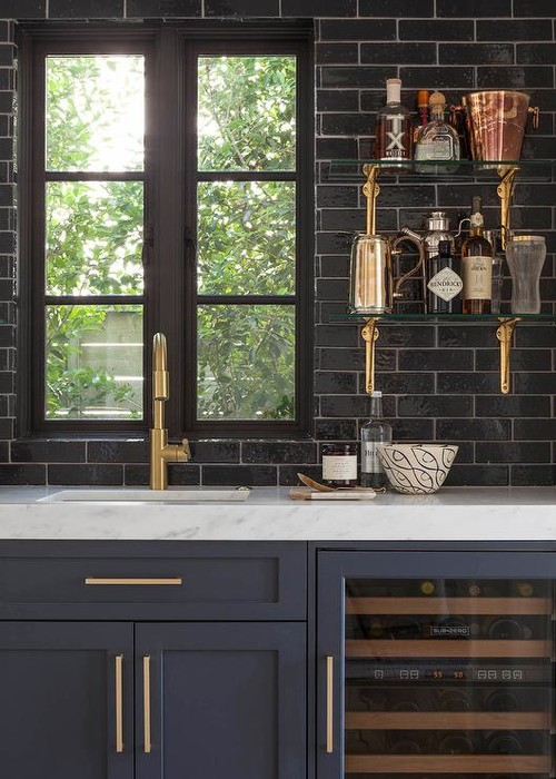 Merveilleux Need Help Picking Color For Dark Navy Blue Cabinets!
