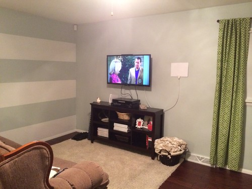 Help Decorating Around A Mounted TV