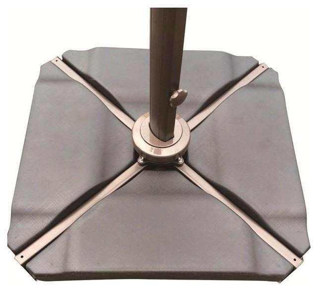 Patio umbrella weights blog dandk for Motor base plate design