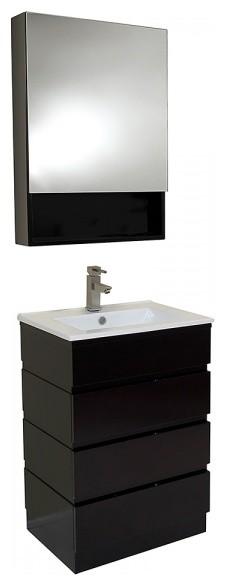 espresso modern bathroom vanity with medicine cabinet modern bathroom