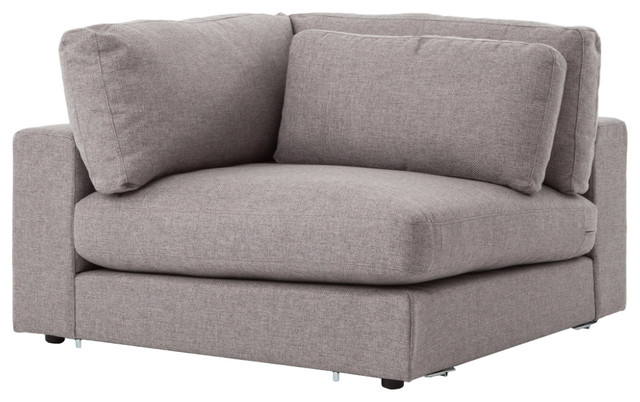 Bloor Sofa Sectional Piece Corner Chess Pewter