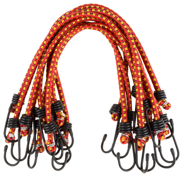 """Stalwart 18"""" Bungee Cords, 10 Pack."""
