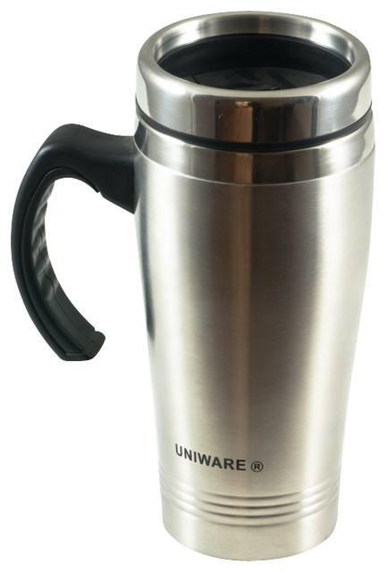 stainless steel travel mug contemporary thermoses by uniware