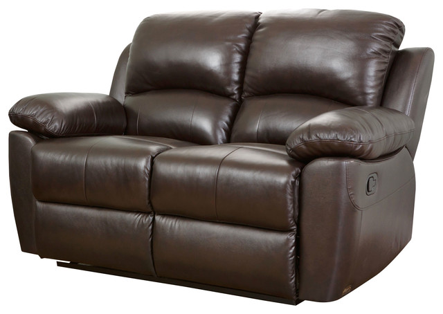 Marvelous Abbyson Living Toscana Leather Reclining Loveseat Brown Unemploymentrelief Wooden Chair Designs For Living Room Unemploymentrelieforg