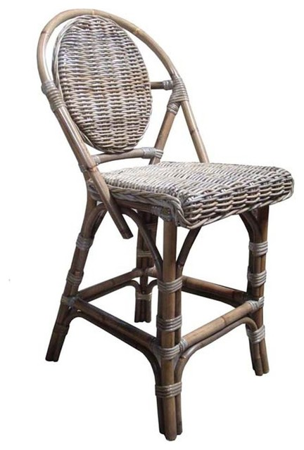 Padma S Plantation Counter Stool Kubu Paris Bistro