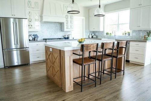 Straight line kitchen for Straight line kitchen designs