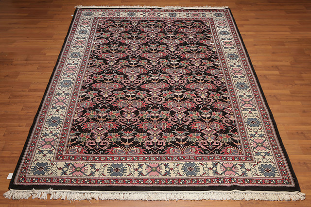 Oriental Traditional Wool Area Rug