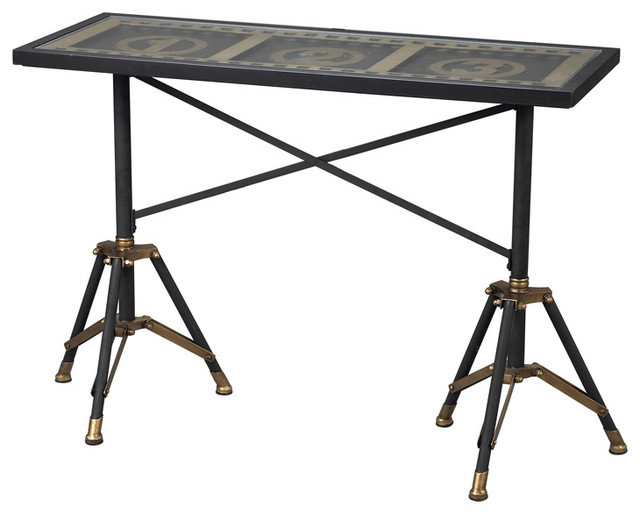 Sterling 51 10030 Movie Reel Console Table