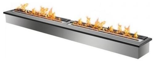 Eb6200 Black, Ethanol Fireplace Burner Insert.