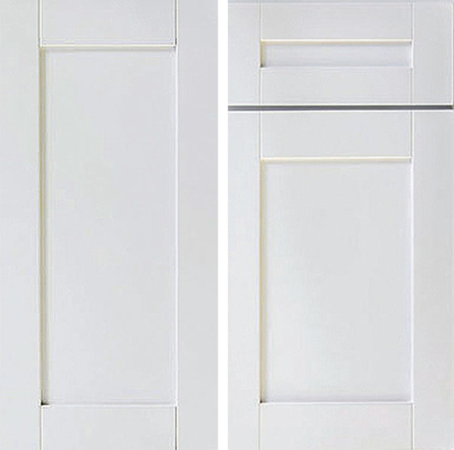 "Shaker 2-Door Kitchen Wall Cabinet, White, 42""x12""x30."