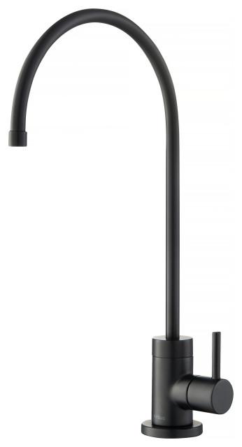 Purita Drinking Water Dispenser Beverage Kitchen Faucet, Matte Black