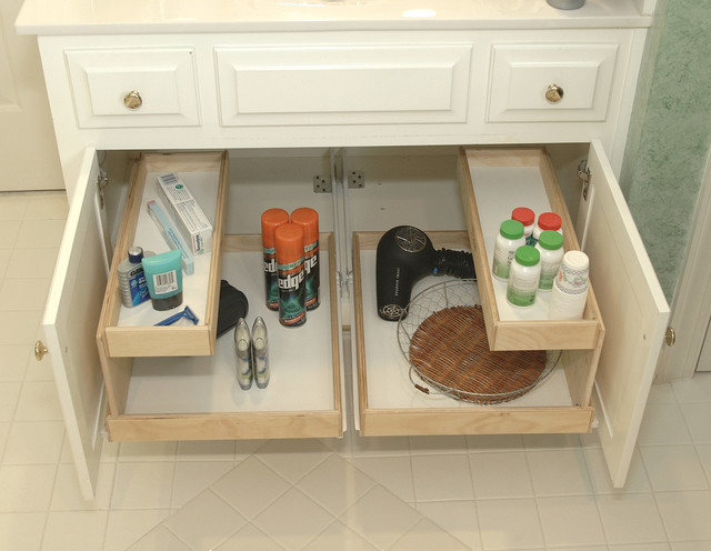 Bathroom Pull Out Shelves Other By ShelfGenie National