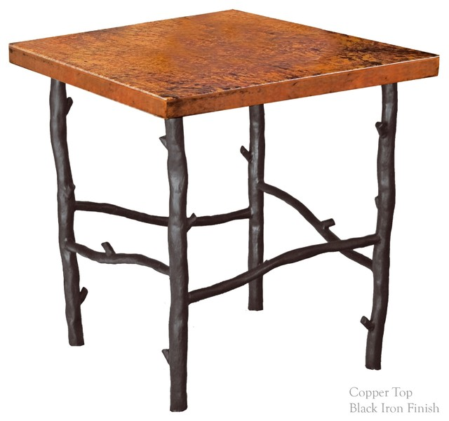 South Fork End Table With 24 Square Top