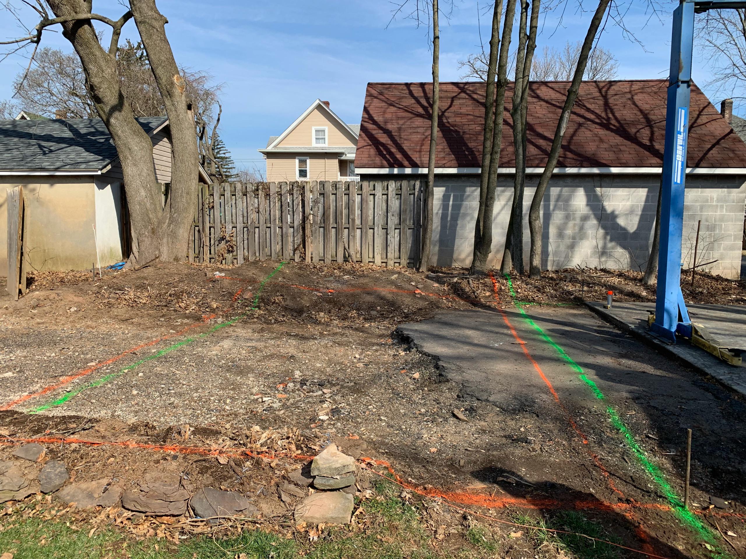 Bound Brook Garage Build