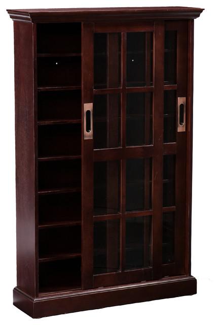 Emerson Sliding Door Media Cabinet - Transitional - Media Cabinets - by Shop Chimney