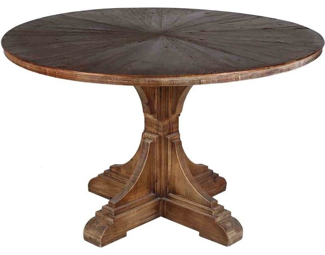 Lovely Calistoga Dining Table Traditional Dining Tables