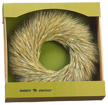 Silk Plants Direct Wheat Wreath, Pack Of 2.