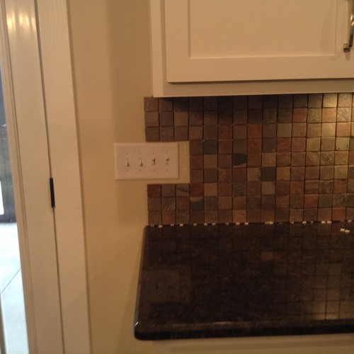 Where to end our backsplash