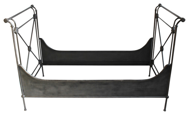 Blackened Iron Daybed.