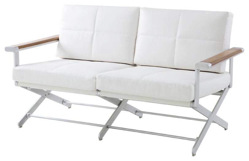 Oskar 2 Seater Sofa Synthetic Leather
