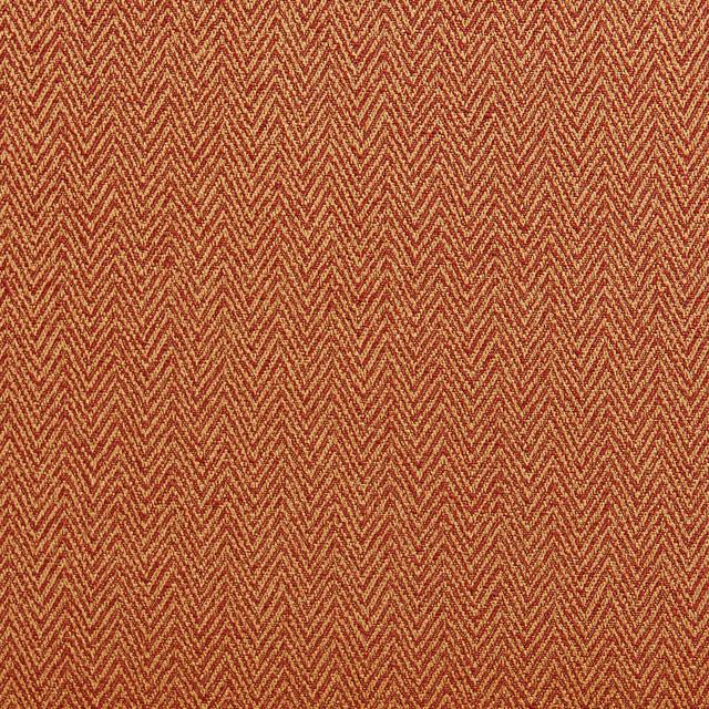 Orange And Gold Chevron Herringbone Upholstery Fabric By The Yard