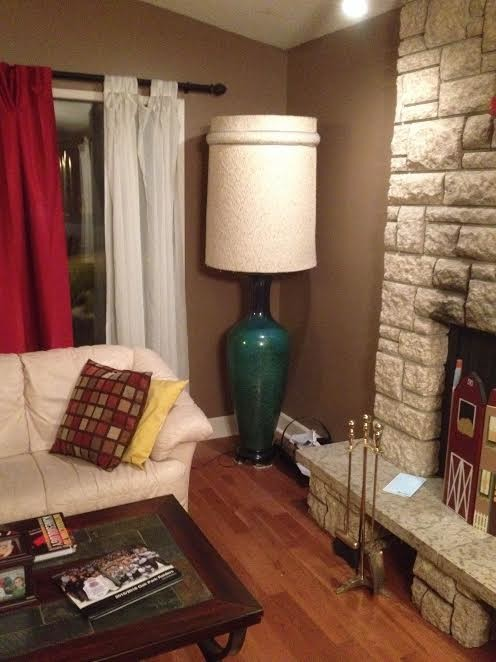 What Shape And Size Shade For This Tall Floor Lamp