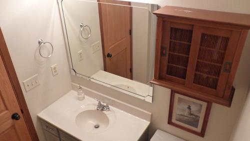 Bathroom Help! Vanity Toilet Tub Are Ice Silver Color. Paint Ideas?