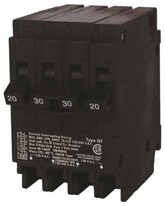 Siemens - Murray MP22015 Circuit Breaker, One 20 Amp Double Pole ...
