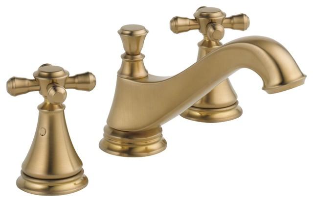 Incredible Delta Cassidy Champagne Bronze Widespread Bathroom Faucet Includes Drain D1801V Download Free Architecture Designs Oxytwazosbritishbridgeorg