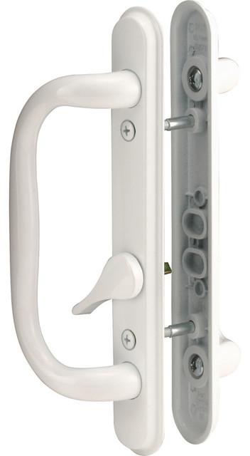 Prime-Line C 1284-par Sliding Door Handle Set, White - Transitional - Door Locks - by Prime-Line ...