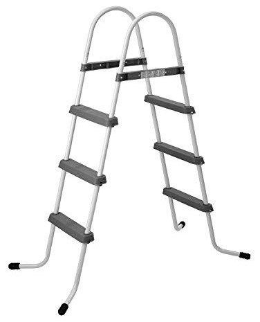 3-Step Above Ground Swimming Pool Deck Ladder, 56.3\