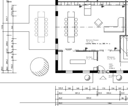 Wohnzimmergestaltung Bei Umbau