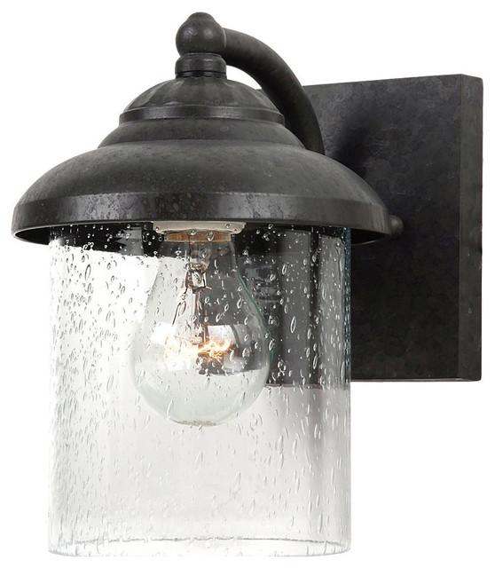 Sea Gull Lighting 84068746 Oxford Bronze Bayside 1 Light Outdoor Wall Fixture