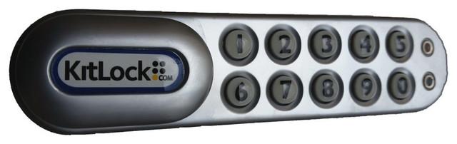 "Electronic Cabinet Lock, RH Horizontal, 1"" Door contemporary-cabinet ..."