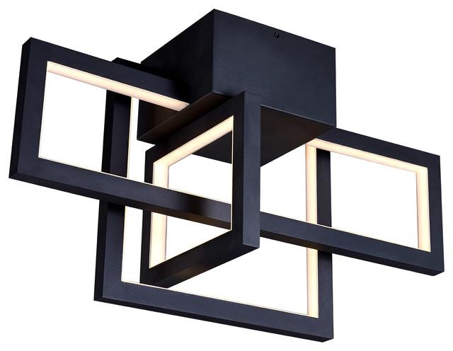 "Radium 26"" Integrated LED Rectangular Ceiling Light Fixture"
