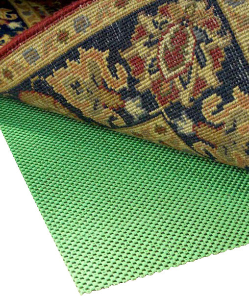 Super Hold Natural Rubber Square Rug Pad 3x3 Contemporary Pads