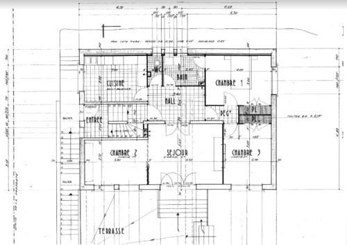 R novation d 39 une maison des ann es 60 r gion lyonnaise for Maison des annees 60